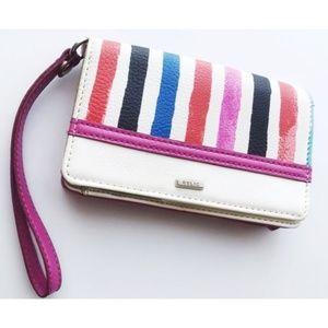 Relic • Pink White Striped Wallet